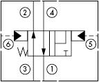 原理图为太阳液压的液控两位四通阀,型号为:DCCF-XRN, DCDF-XRN, DCEF-XRN, DCFF-XRN。